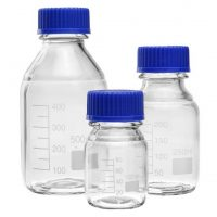 Bottles- Reagent, Wide Mouth Graduated with Screw Cap